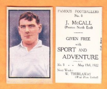 Preston North End Joe McCall England